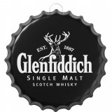 Wall plate metal, Glenfiddich
