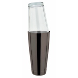Boston Shaker gun metal black 82 cl