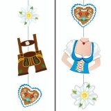 Pendant decoration 75 cm Costumes for the Oktoberfestival