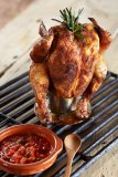 Beer Can Chicken barbeque roaster