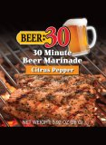 Beer marinade citrus pepper
