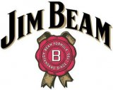 Jim Beam whiskeyglas logo