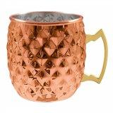 Moscow Mule Kobber Krus diamant 55 cl