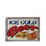 Wall sign Ice Cold Beer