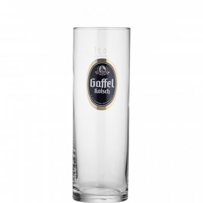 Gaffel Kölsch beer glass 20 cl