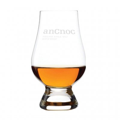 anCnoc whisky glass Glencairn