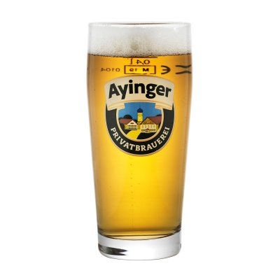 Ayinger beer glass 40 cl