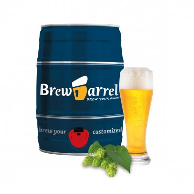 Brew Barrel homebrewing kit - Wheat Beer