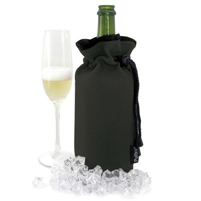Champagne cooler bag black Pulltex
