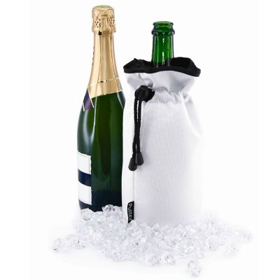 Champagne cooler bag white