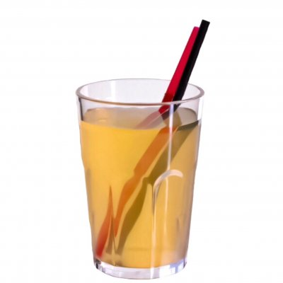 Plastic drink glass 35 cl