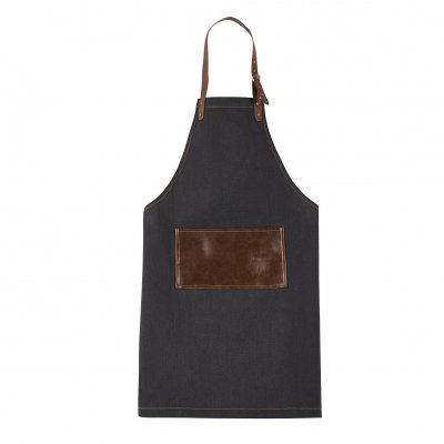 Apron jeans leather