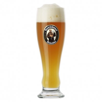 Franziskaner Hefe beer glass 50 cl