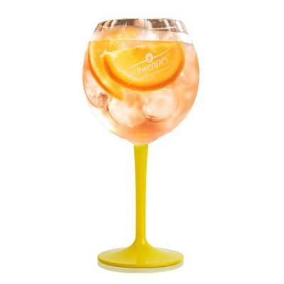 Schweppes Gin & Tonic glass