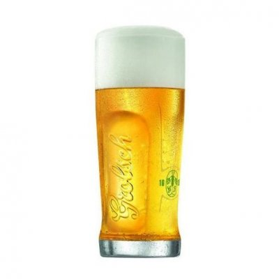 Grolsch beer glass 50 cl