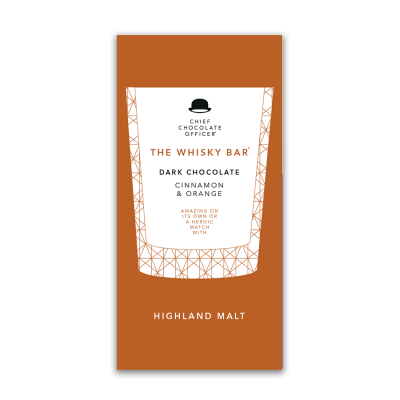 The Whisky Bar Highland choklad 100 gram