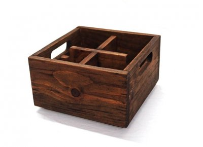 Wooden Box Natural - small