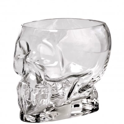 Tiki Skull Glass community drink cocktail glas