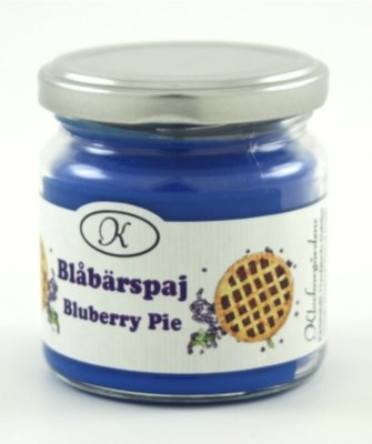 Scented Candle Blueberry Pie