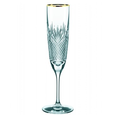 Royal Gold champagne glass
