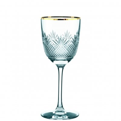 Royal Gold Red Wine Glass