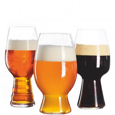Craft Beer Kit with 3 glasses