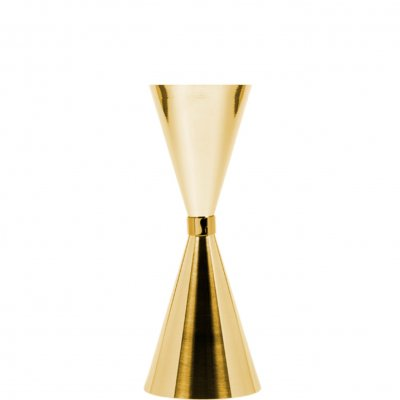 Jigger Mr Slim 45/60/90 ml guldpläterad gold plated