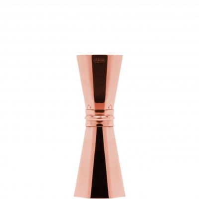 Yukiwa Octagon jigger 33/45 ml roséguldpläterad rose gold plated