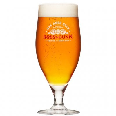 Innis & Gunn ölglas beer glass