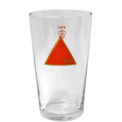 Bass ölglas pint beer glass