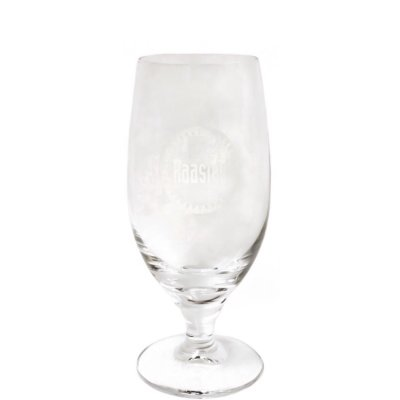 Raasted beer glass 25 cl