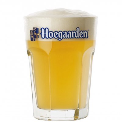 Hoegaarden ölglas 33 cl beer glass