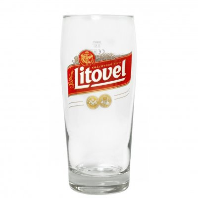 Litovel ölglas 50 cl