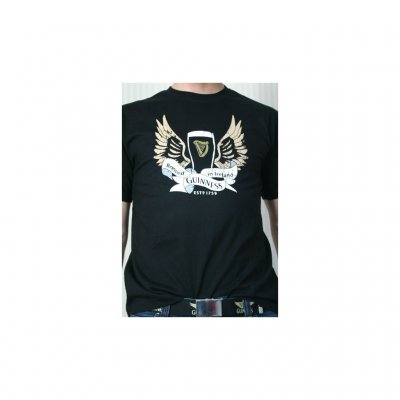 Guinness t-shirt wings