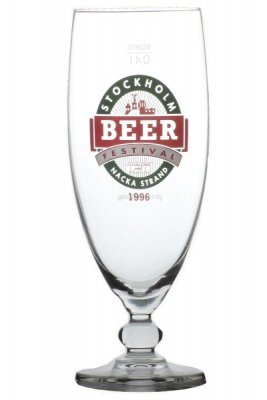 Beer glass Stockholm Beer 1996 40 cl