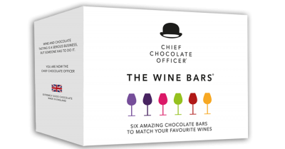 The wine Bars mix box chocolate to wine 6x50g
