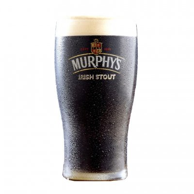 Murphys stout beer glass
