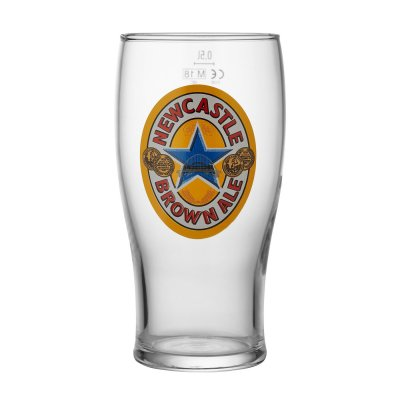 Newcastle beer glass 50 cl