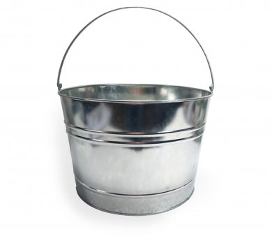 Beer bucket in metal