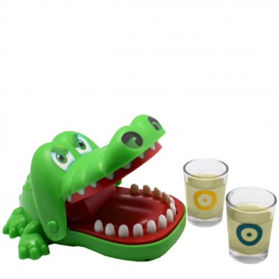 Drinking Luck Crocodile drinking game