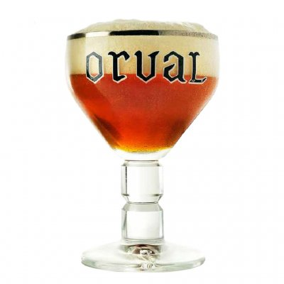 Orval Trappist Beer glass