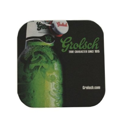 Grolsch coasters 6-pack