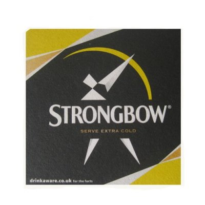 coasters Strongbow 6-pack