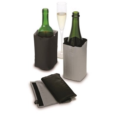 Wine cooler with Velcro Gray / Black