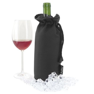 Wine cooler bag black Pulltex