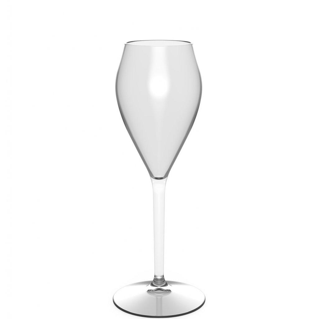 champagneglas i plast